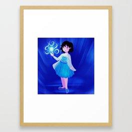 isla frozen Framed Art Print