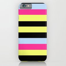 Bertie Bassett Stripes Pattern iPhone 6s Slim Case