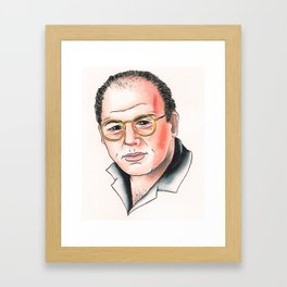 I Am Costanza Framed Art Print