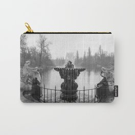 Fountains in Kensington Park of London, England Carry-All Pouch