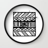 friday Wall Clocks featuring Friday by Day Off