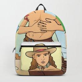 Demure Cowboy Love Backpack
