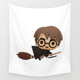 Little Wizard Wall Tapestry