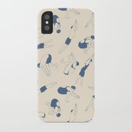On Your Marks iPhone Case