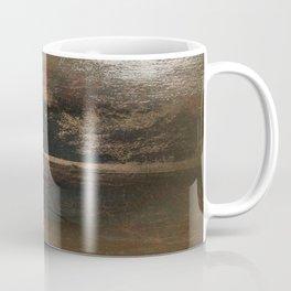 A Yellow Wood Coffee Mug