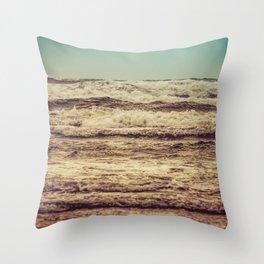 Ocean Crush Throw Pillow