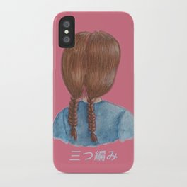 Gretchen's Braids iPhone Case