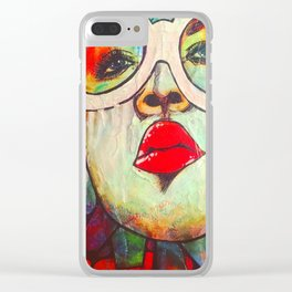 Ms. Wonka Clear iPhone Case