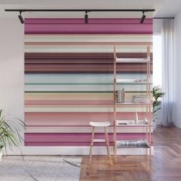 Sandwich cookie stripes Wall Mural