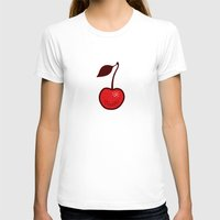 cherry T-shirts featuring Cherry by René Barth