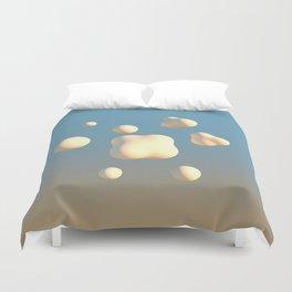 Bubbles & Cream Duvet Cover