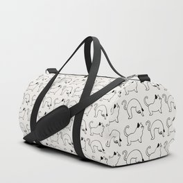 Cat Pose Duffle Bag