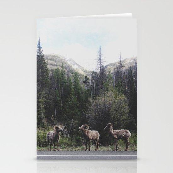 Bighorn Sheep Stationery Cards