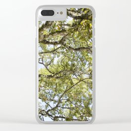 Breathe In and Look Up Clear iPhone Case