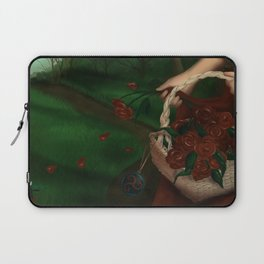The Red Triskelion Laptop Sleeve