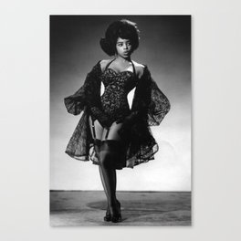 Iconic Images: Miss Topsy Canvas Print
