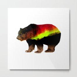 Bear xXx Metal Print
