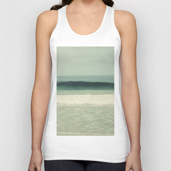 Teal Sea Unisex Tank Top