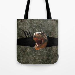 Trex Dinosaur Strike Back Tote Bag