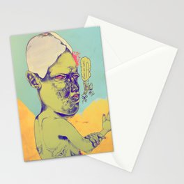 c-c-c-combo breaker Stationery Cards