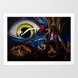 Parasite Dawn Art Print