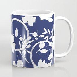 Blue And White Pattern No. 1 Coffee Mug