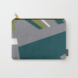 Pattern green and grey Carry-All Pouch