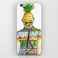 Mr. Pineapple iPhone & iPod Skin