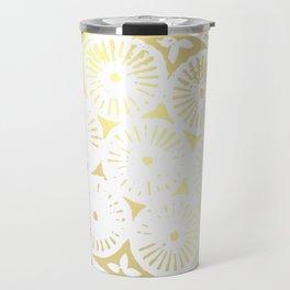 power of one: white gold Travel Mug