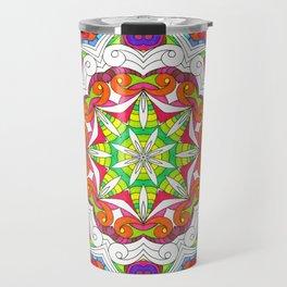 Drawing Floral Doodle G5B Travel Mug