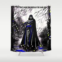 vader Shower Curtains featuring Vader by Saundra Myles
