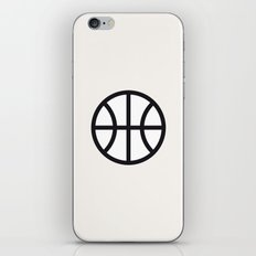 Basketball - Balls Serie iPhone Skin
