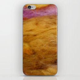 Sunrise wool iPhone Skin