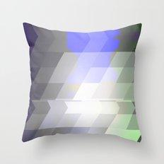 Slant Fade Throw Pillow