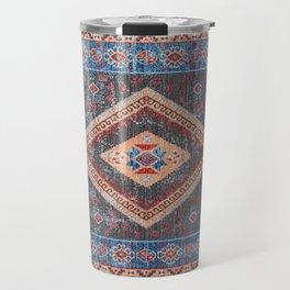 (N16) Boho Moroccan Oriental Artwork for Rustic and Farmhouse Styles. Travel Mug