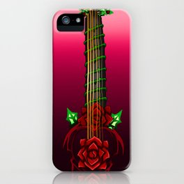 Fusion Keyblade Guitar #137 - Lurebreaker & Divine Rose iPhone Case