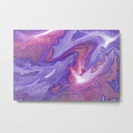 Digital abstract art Tones Metal Print