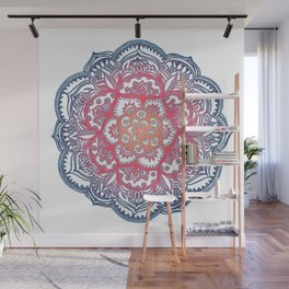 Radiant Medallion Doodle Wall Mural