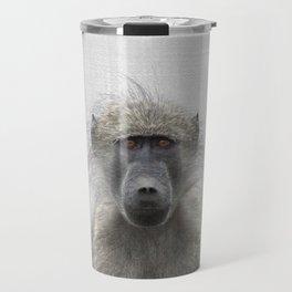 Baboon - Colorful Travel Mug