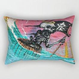 Sailing Skeleton  Rectangular Pillow