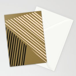 Dorm abstract line Stationery Cards