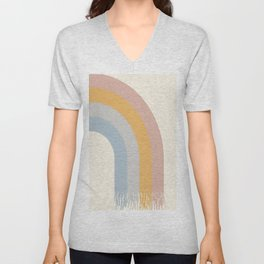 The Rainbow of Calm Unisex V-Neck