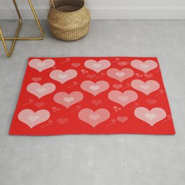 Heart Abstract Rug
