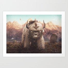Appa in the Mountains Kunstdrucke