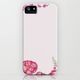 Pink Swan iPhone Case