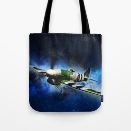 Spitfire Night Flight Tote Bag