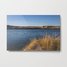 Downstream Campground, North Dakota 5 Metal Print