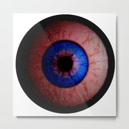 Pink  Eyeball Jewel Metal Print