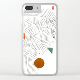 Trails 01 Clear iPhone Case