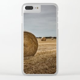 Bales of hay Clear iPhone Case